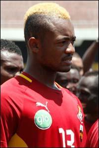 Une décoloration partielle pour se distinguer... Jordan Ayew a la double nationalité ghanéenne et...