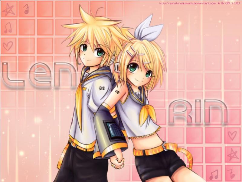 Rin et Len Kagamine ont :