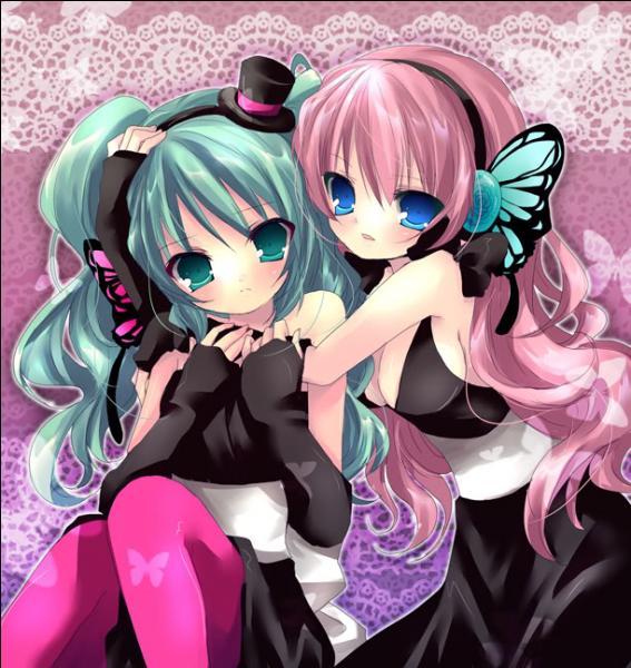 Miku Hatsune & Luka Megurine sont les Vocaloides n° :
