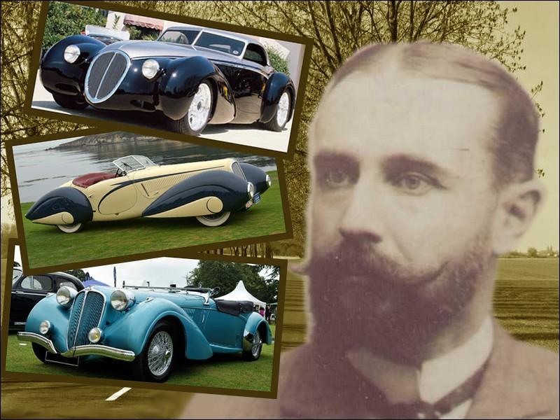 Fondateur de la marque mythique portant son nom, cet ingénieur se lance en 1894 dans l'industrie automobile à Tours et fabrique la première automobile 100 % française, châssis, carrosserie et moteur...