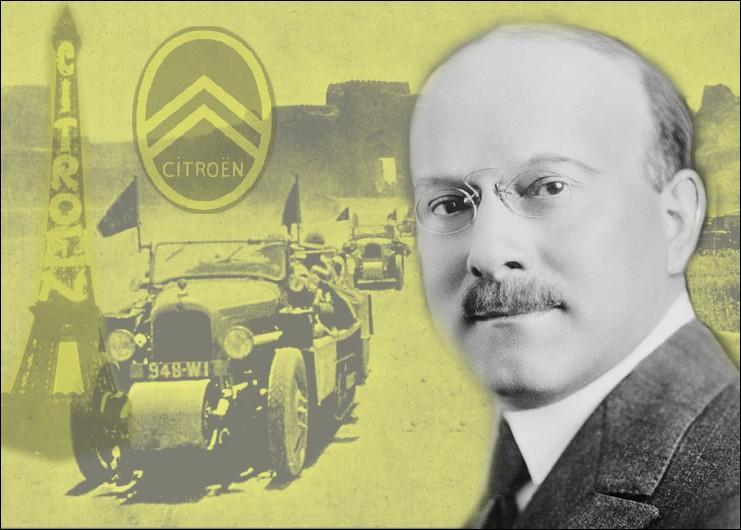 André Citroën, pionnier de l'industrie automobile française fut un innovateur en matière de publicité et de marketing. Quel célèbre raid organisa-t-il à travers l' Asie en 1931 ?