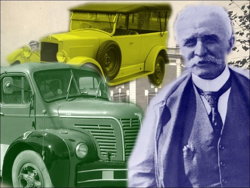 Ce constructeur automobile célèbre pour ses camions, fut condamné en 1946 pour collaboration économique sous l'Occupation...