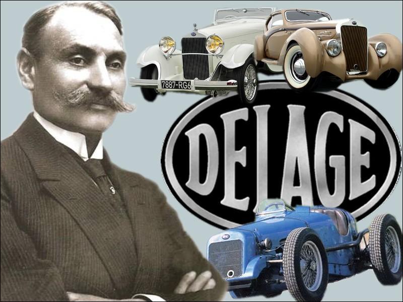 Réputée pour le raffinement technique de ses voitures de luxe et pour ses résultats en compétition, la marque Delage fondée par Louis Delâge en 1905 a disparue en...
