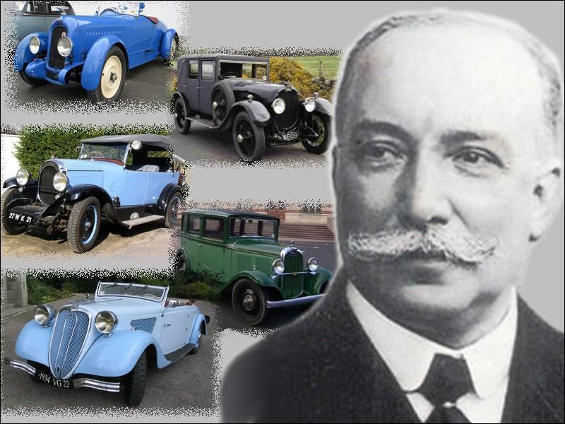 Que fabriquait Ernest Chenard et Henry Walcker célèbre constructeur des années 1900-1940 avant de fabriquer leur première voiturette en 1900 ?