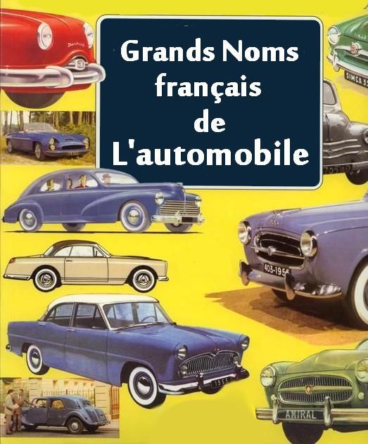 Les Grands Noms français de l'automobile