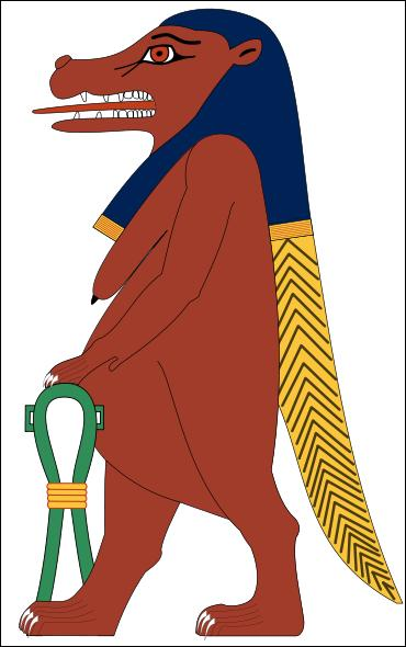 Quelle est la déesse égyptienne hippopotame des accouchements ?