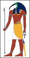 Quel est le dieu égyptien de la connaissance et de l'écriture ?