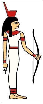 Quelle est la déesse égyptienne de la chasse et du tissage ?