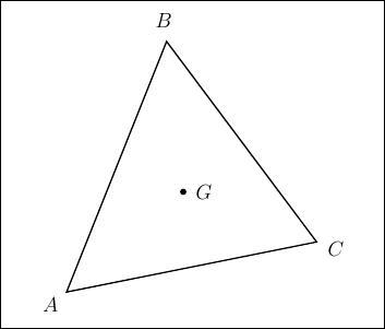 Le centre de gravité d'un triangle est le point de concours des ... .