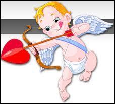 Je suis le dieu de l'amour, beaucoup de personnes me voient comme un petit bébé avec des ailes et en couche-culotte qui tire des flèches sur les gens, je suis...
