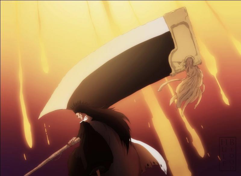 Comment se nomme le Zanpakuto de Zaraki Kenpachi qui est le capitaine de la onzième division ?