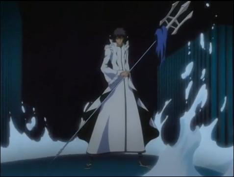 Le défunt vice-capitaine Kaien Shiba possédait un sabre du nom de ... ?