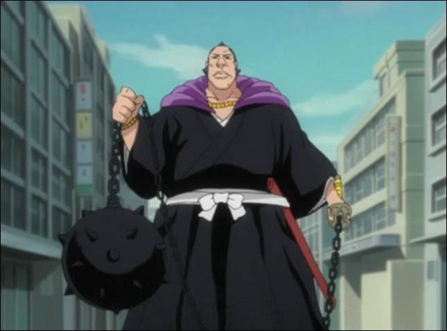 Son vice-capitaine Omaeda, possède un Shikai appelé ... ?