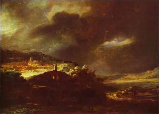 Qui a peint Paysage d'orage ?