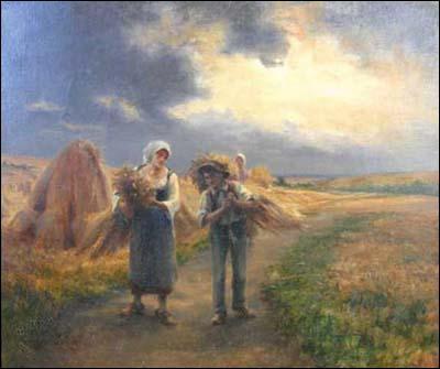Qui a peint Soir d'orage ?