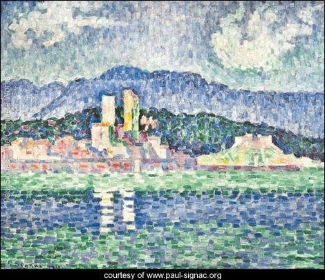 Qui a peint Orage à Antibes ?