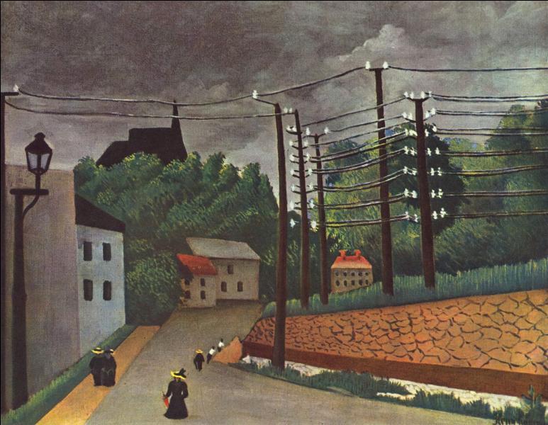 Qui a peint Rue Malakoff sous l'orage ?