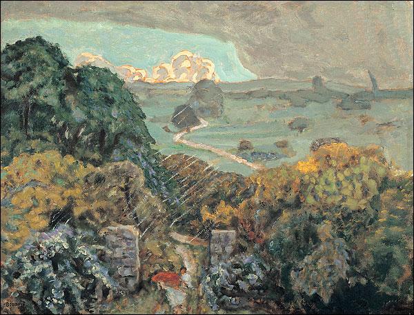 Qui a peint L'orage à Vernouillet ?