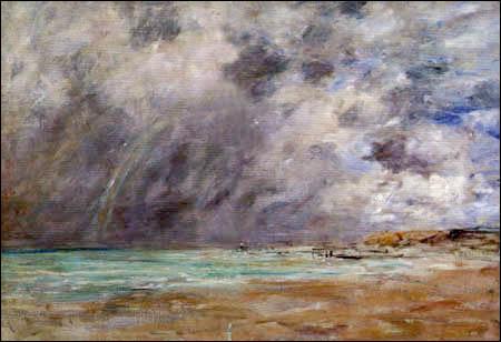 Qui a peint Ciel d'orage dans l'estuaire du Havre ?