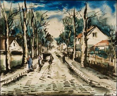Qui a peint Après l'orage près de Pontoise ?