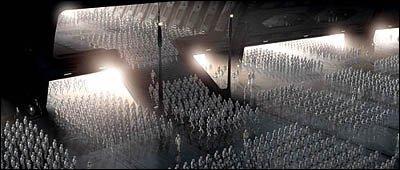 Dans l'épisode 2, qui a commandé à Lama Su une armée de clones ?