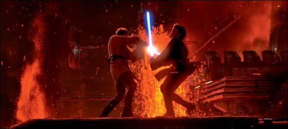 Sur quelle planète a lieu le combat entre Anakin et Obi-Wan ?