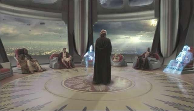 Combien de membres le conseil Jedi peut-il contenir au maximum ?