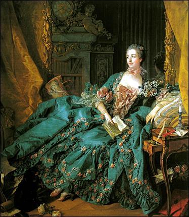 Quel peintre a représenté sur de nombreuses toiles, Madame de Pompadour ?