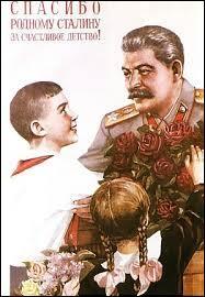Quelles sont les dates de Staline au pouvoir ?
