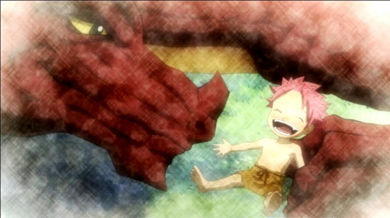 En quelle année le dragon de Natsu a-t-il disparu ?