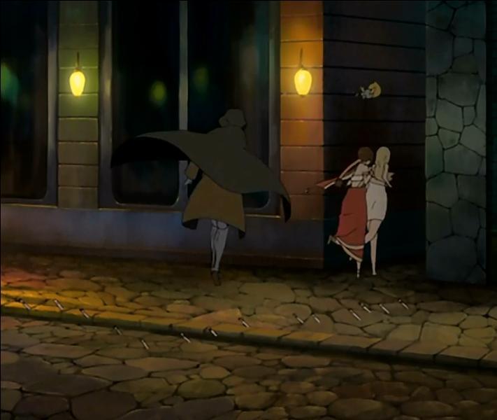 Juste avant d'y aller, ils font une halte dans une ville proche. Qu'arrive-t-il à Eclair, Momon et Lucy ?