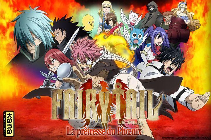 Fairy Tail : La Prêtresse du Phoenix