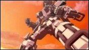 'Burst Angel' : Jango est un robot géant piloté par Sei.