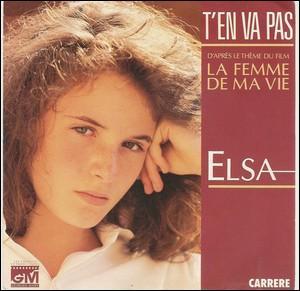 Elsa devient la plus jeune artiste en tête du Top 50 début 1987 avec 'T'en va pas'. Laquelle de ses chansons a également réussi cet exploit l'année suivante: