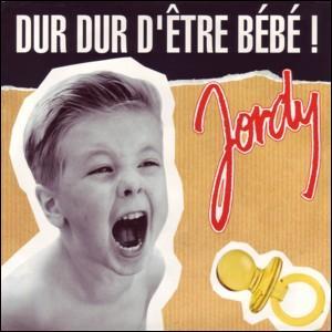 On ne fera pas plus jeune! En 1992, à 4 ans, Jordy détrône Elsa au panthéon avec 'Dur dur d'être bébé'. Sa 'copine à lui' en 1993 qui réitère l'exploit est: