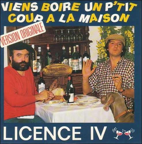 En 1987, 14 semaines pour cette chanson à boire. Qui est à l'accordéon: