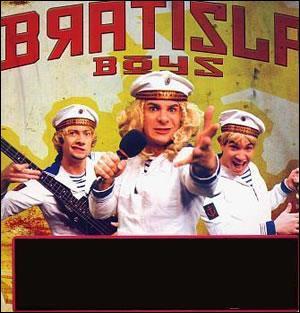 En 2002, les Bratisla Boys, à coups d'onomatopées, interprètent: