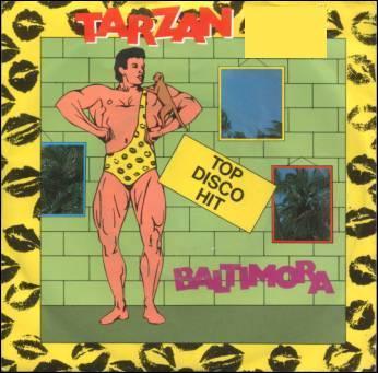 En 1985, Baltimora chante 'Tarzan...: