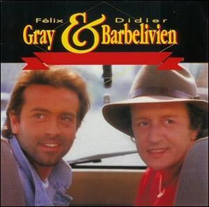 En 1990, Felix Gray & Didier Barbelivien chantent 'A toutes les...'