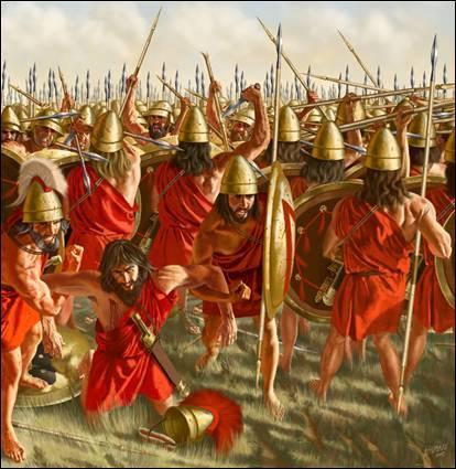 En 371 avant J.-C. - Près de Thèbes, quelle bataille fut l'une des plus inventives dans l'art de la guerre ? Les Thébains, conduits par le béotarque Épaminondas, ont infligé une sévère défaite au roi spartiate Cléombrote Ier.