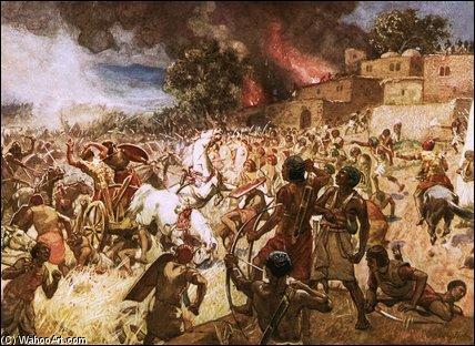 En 609 avant J.-C. - Pendant quelle bataille le roi Josias du royaume de Judas est-il défait et tué par le pharaon Nékao II ?