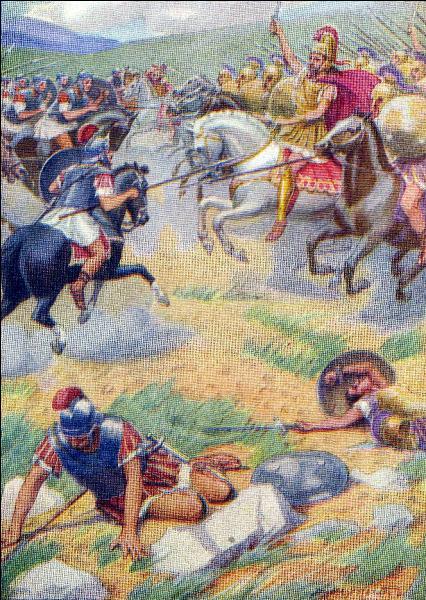 En 280 avant J.-C. - Quelle bataille vit s'affronter les troupes de la République romaine et celles de Pyrrhus Ier, roi d'Épire ?