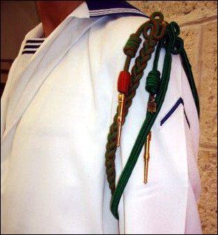 Décorations portées par les militaires ou certains corps civils.