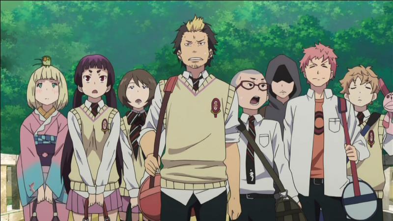 Après 'One Piece' et 'Bleach', c'est au tour de 'Ao No Exorcist' d'avoir sa question. Lorsque l'Académie de la Croix-Vraie se retrouve espionnée par un membre des Illuminatis, Izumo kamiki se fait kidnappée. Mais qui a trahi l'Académie ?