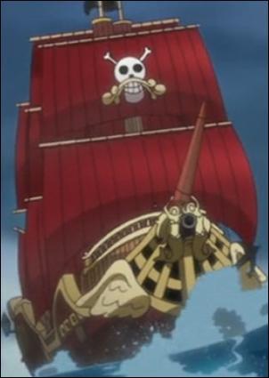 Retournons dans le monde de la piraterie avec 'One Piece'. Nous connaissons tous le Vogue Merry et le Thousand Sunny, les bateaux de Luffy. Mais quel était le nom du bateau du précédent Roi des Pirates ?