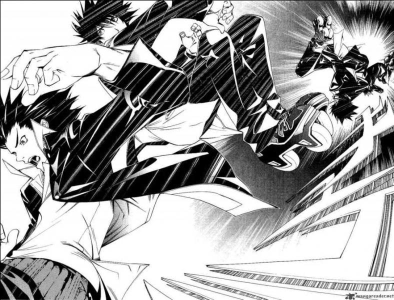 Une fois encore dans 'Air Gear'. Lors du devil 30-30, sur quoi retombe Ikki afin de protéger Ringo lors de sa chute ?