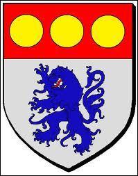 Voici le blason de la commune Samarienne de Flesselles. Elle se trouve en région ...