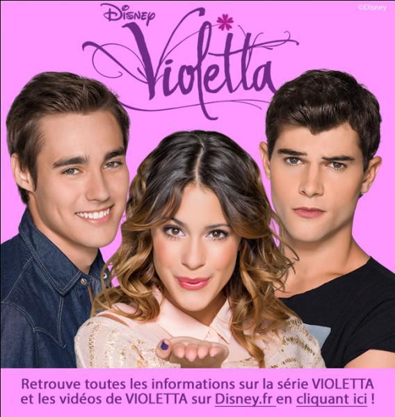 Qui Violetta aime-t-elle dans la saison 2 ?