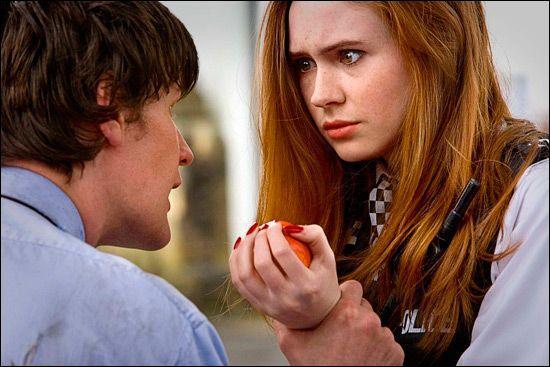 Pourquoi le Docteur voulait-il une pomme ?