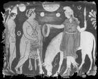 Neuvième travail. Hercule doit ramener la ceinture d'Hypollite, mais qui est Hipollite ?